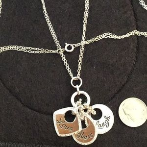 Jewelry - Silver charm necklace
